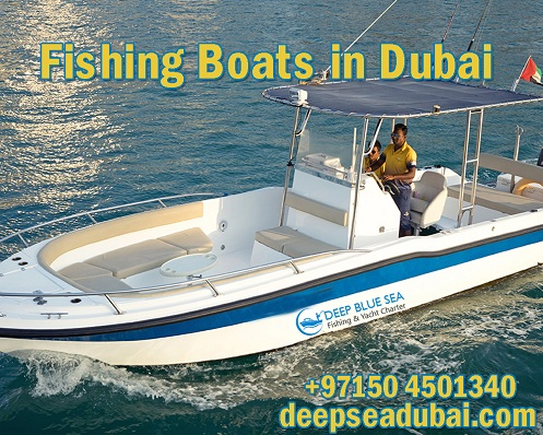 Fishing Boats in Dubai