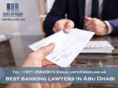 best banking lawyers in Abu Dhabi